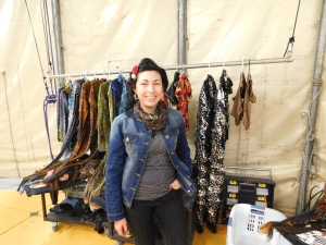 Geneviève is assistant to the head of wardrobe at Cirque du Soleil.