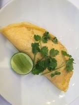 Pork omelete