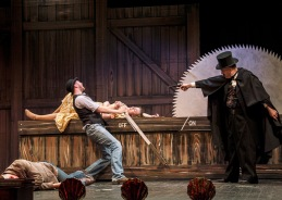 Only An Orphan Girl - Robert Bell, Sophia Bubner and Barry Hill - pic credit Norm Caddick