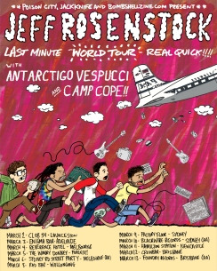 Jeff Rosenstock Tour Poster March 2016