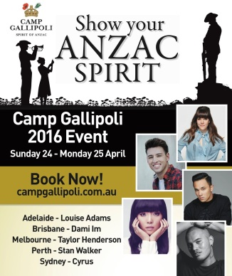 Camp Gallipoli National Poster