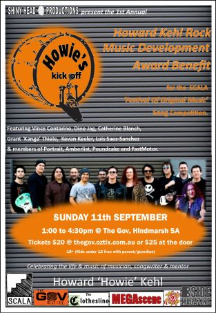 Howie's Kick Off Poster Orange Final