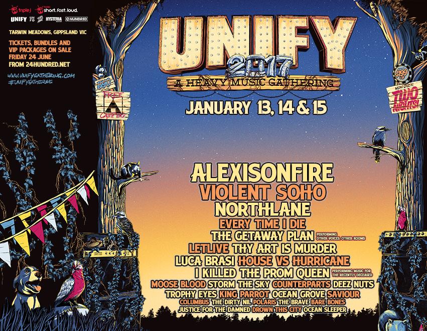 Unify 2017 lineup UNFD Columbus