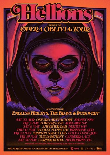 Hellions Opera Oblivia Tour