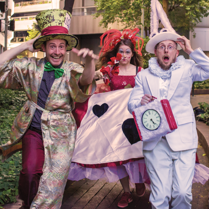 upon entering veale gardens for fire hazard games escape from wonderland you are greeted by the characters from lewis carrolls alice in wonderland