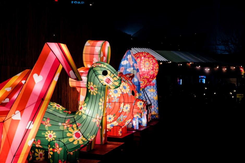 OzAsia Moon Lantern Parade - lanterns