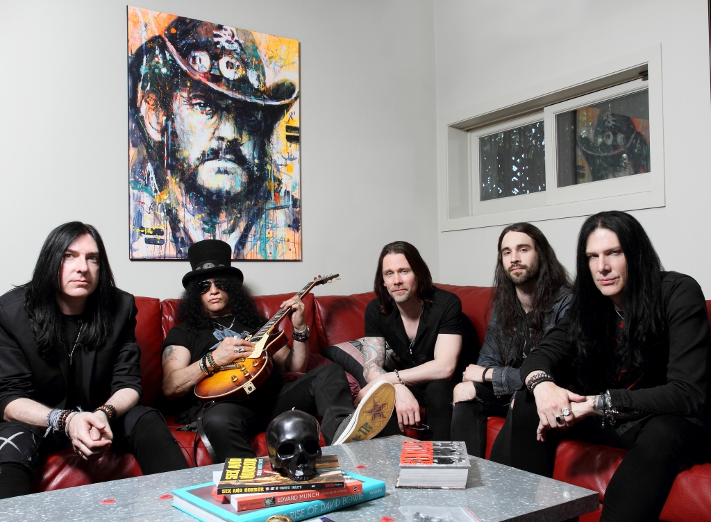 Slash Myles Kennedy and The Conspirators Australian Tour Interview